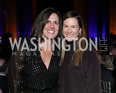 Amanda Bowker, Jill Smith. Photo by Tony Powell. 2020 Bishop Walker Annual Dinner. National Cathedral. March 5, 2020