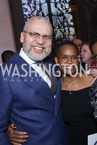 James and Valerie Woody. Photo by Tony Powell. 2020 Bishop Walker Annual Dinner. National Cathedral. March 5, 2020