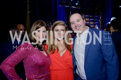 Lauren Rodgers, Holly Kammerer, Mike Rodgers. Photo by Tony Powell. 2020 Chance for Life. MGM National Harbor. February 22, 2020