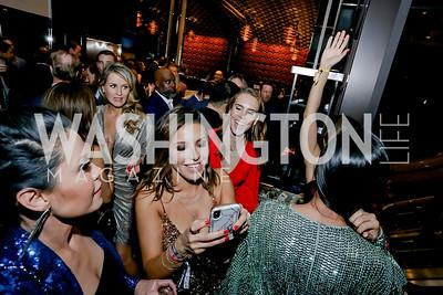 Karen Ghoorah, Lily Talakoub, Angie Goff, Daya, Samin Emam, Callie Nierenberg, Julia Ghafouri, Jossie Guthrie. Photo by Tony Powell. 2020 Chance for Life. MGM National Harbor. February 22, 2020