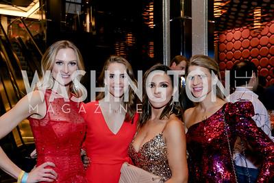 Kathleen McCenna, Julia Ghafouri, Lily Talakoub, Callie Nierenberg. Photo by Tony Powell. 2020 Chance for Life. MGM National Harbor. February 22, 2020