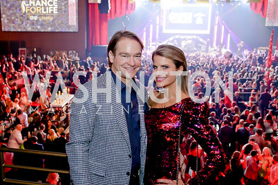 Brad and Callie Nierenberg. Photo by Tony Powell. 2020 Chance for Life. MGM National Harbor. February 22, 2020