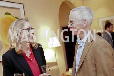 Jeannie Specchio, Peter Shields. Photo by Tony Powell. 2020 CityDance Dream Gala Kickoff. February 27, 2020