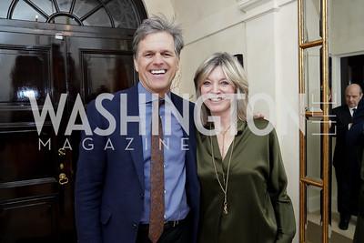 Tim Shriver, Kay Kendall. Photo by Tony Powell. 2020 CityDance Dream Gala Kickoff. February 27, 2020