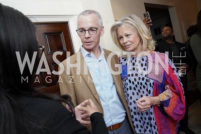 Marcia Dyson, Peter Shields, Linda Potter. Photo by Tony Powell. 2020 CityDance Dream Gala Kickoff. February 27, 2020