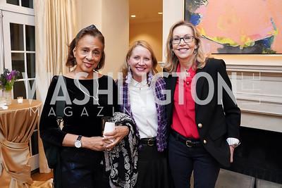 Marlene Moss, Mel Burnett, Jeannie Specchio. Photo by Tony Powell. 2020 CityDance Dream Gala Kickoff. February 27, 2020