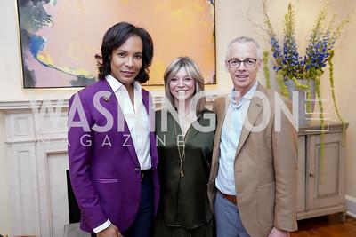 Paul Wharton, Kay Kendall, Peter Shields. Photo by Tony Powell. 2020 CityDance Dream Gala Kickoff. February 27, 2020