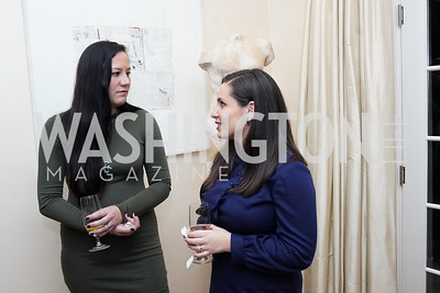 Kelli Quinn, Rachel DiLeo. Photo by Tony Powell. 2020 CityDance Dream Gala Kickoff. February 27, 2020