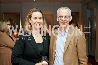 Anne De Fontenay, Peter Shields. Photo by Tony Powell. 2020 CityDance Dream Gala Kickoff. February 27, 2020