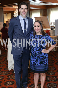 Brian and Sara Wachtel. Photo by Tony Powell. 2020 Daffodils and Diamonds Fashion Show. Columbia Country Club. March 12, 2020