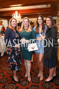 Lisa Paro, Darby Gingery, Greer Gibgery, Annie Virostek. Photo by Tony Powell. 2020 Daffodils and Diamonds Fashion Show. Columbia Country Club. March 12, 2020