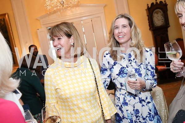 Heather de Laszlo, Sargh Soltesz. Photo by Tony Powell. 2020 Daffodils and Diamonds Fashion Show. Columbia Country Club. March 12, 2020
