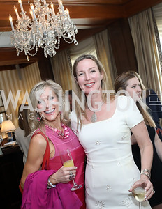 Brie Merritt, Deirdre Lofft. Photo by Tony Powell. 2020 Daffodils and Diamonds Fashion Show. Columbia Country Club. March 12, 2020