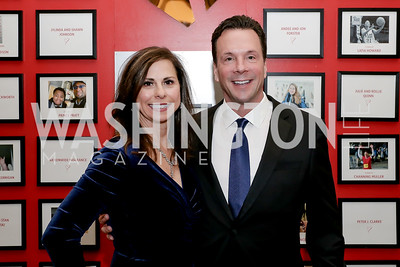 Jacqueline and Matt Kienzle. Photo by Tony Powell. 2020 Heart Ball. Mandarin Oriental. February 22, 2020