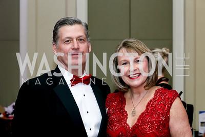 Mac and Cindy Curtis. Photo by Tony Powell. 2020 Heart Ball. Mandarin Oriental. February 22, 2020