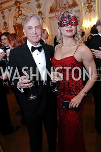 Jim Martel, Victoria Stavila. Photo by Tony Powell. 2020 Russian Ball. January 18, 2020