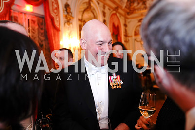 Assistant Secretary of State R. Clarke Cooper. Photo by Tony Powell. 2020 Russian Ball. January 18, 2020