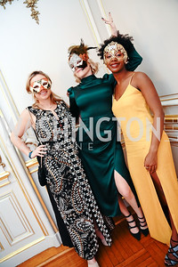 Anna Pouschine, Helen Tuggle, Gloria Umutoni. Photo by Tony Powell. 2020 Russian Ball. January 18, 2020