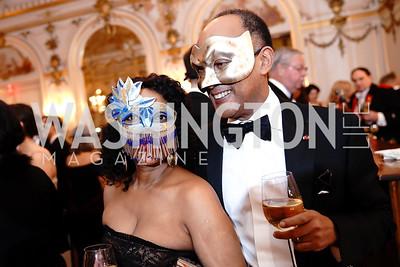 Princess Saba Kebede and Prince Ermias Sahle-Selassie. Photo by Tony Powell. 2020 Russian Ball. January 18, 2020
