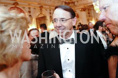 Former Deputy Attorney General Rod Rosenstein. Photo by Tony Powell. 2020 Russian Ball. January 18, 2020