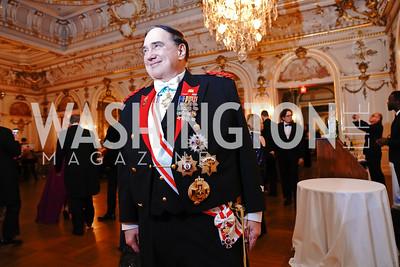 Hubert Wayne Nelson. Photo by Tony Powell. 2020 Russian Ball. January 18, 2020