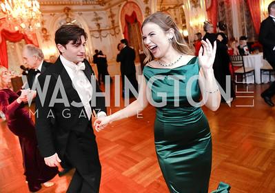Eric Simpson, Erica Rodgers. Photo by Tony Powell. 2020 Russian Ball. January 18, 2020