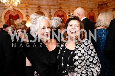 Dobra Marshall, Shaista Mahmood. Photo by Tony Powell. 2020 Russian Ball. January 18, 2020