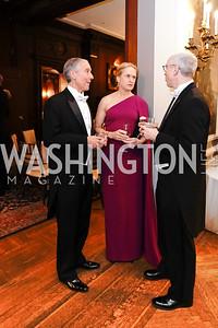 Theodore Allison, Sophia Allison, Michael Jacobs. Photo by Tony Powell. 2020 Russian Ball. January 18, 2020