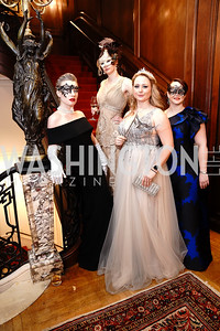 Ekaterina Flis, Audrey Wilde, Mariya Kruseck, Meredith Schramm-Strosser. Photo by Tony Powell. 2020 Russian Ball. January 18, 2020