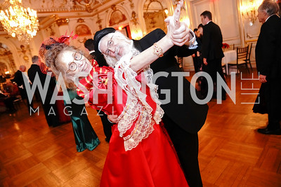 Daria Fane and Reuven Schlenker. Photo by Tony Powell. 2020 Russian Ball. January 18, 2020