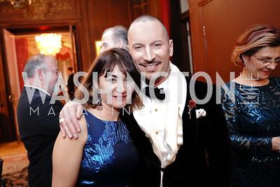 Indira Gumarova, Eric Larsen. Photo by Tony Powell. 2020 Russian Ball. January 18, 2020