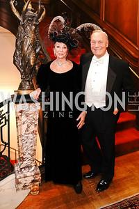 Rosemarie Bogley, Bob Heggestad. Photo by Tony Powell. 2020 Russian Ball. January 18, 2020