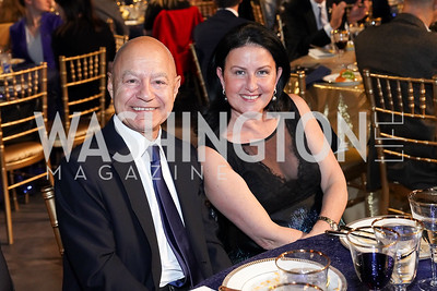 Farid and Rim Abboud. Photo by Tony Powell. 2020 St. Jude's Gourmet Gala. The Anthem. February 27, 2020