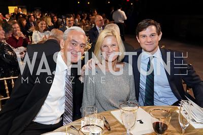 Rick, Ann and Tim Shadyac. Photo by Tony Powell. 2020 St. Jude's Gourmet Gala. The Anthem. February 27, 2020