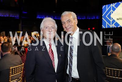 Honorary Chair Dr. Amin Barakat, Rick Shadyac. Photo by Tony Powell. 2020 St. Jude's Gourmet Gala. The Anthem. February 27, 2020