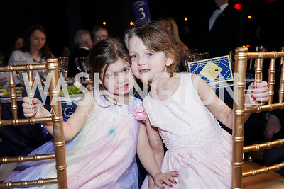 Nora and Stella Elwood. Photo by Tony Powell. 2020 St. Jude's Gourmet Gala. The Anthem. February 27, 2020