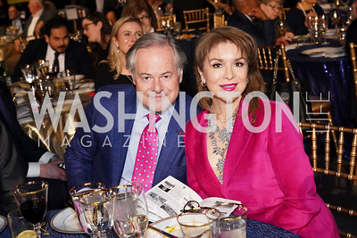 Michael Cleary and Teri Galvez. Photo by Tony Powell. 2020 St. Jude's Gourmet Gala. The Anthem. February 27, 2020