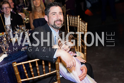 Dustin and Stella Elwood. Photo by Tony Powell. 2020 St. Jude's Gourmet Gala. The Anthem. February 27, 2020
