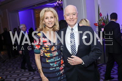 Katherine and David Bradley. Photo by Tony Powell. 10th Annual Teach for America Gala. Ritz Carlton. February 26, 2020
