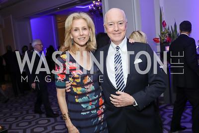 Katherine and David Bradley. Photo by Tony Powell. 10th Annual Teach for America Gala. Ritz Carlton. February 26, 2020