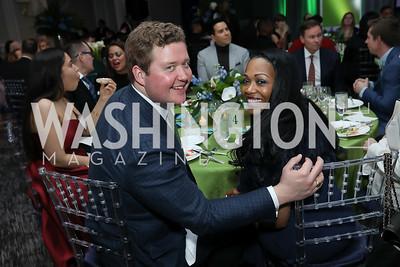 Daniel Heider, Trian Johnson. Photo by Tony Powell. 10th Annual Teach for America Gala. Ritz Carlton. February 26, 2020