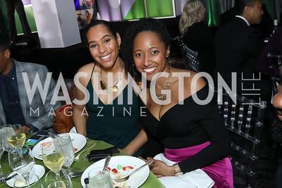 JulieAnn Hutchinson, Kimberly Branch. Photo by Tony Powell. 10th Annual Teach for America Gala. Ritz Carlton. February 26, 2020
