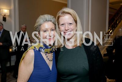 Christie Weiss, Chrissy Brill. Photo by Tony Powell. 10th Annual Teach for America Gala. Ritz Carlton. February 26, 2020