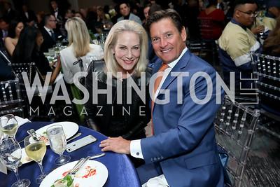 Cynthia Steele Vance, Joe Ruzzo. Photo by Tony Powell. 10th Annual Teach for America Gala. Ritz Carlton. February 26, 2020