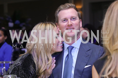 Amy and Tripp Donnelly. Photo by Tony Powell. 10th Annual Teach for America Gala. Ritz Carlton. February 26, 2020