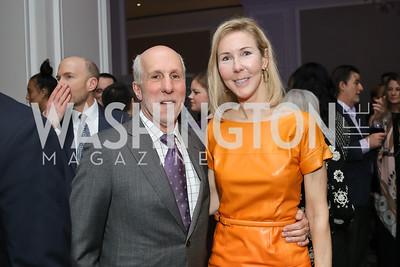 Tom Gage and Carole Funger. Photo by Tony Powell. 10th Annual Teach for America Gala. Ritz Carlton. February 26, 2020