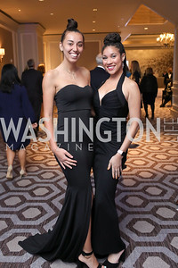 Jennifer Schroeder, Renatta Landrau. Photo by Tony Powell. 10th Annual Teach for America Gala. Ritz Carlton. February 26, 2020