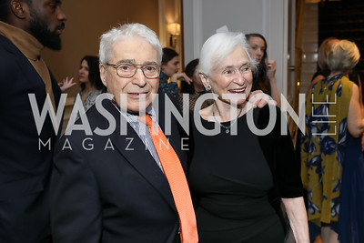 Alan and Irene Wurtzel. Photo by Tony Powell. 10th Annual Teach for America Gala. Ritz Carlton. February 26, 2020