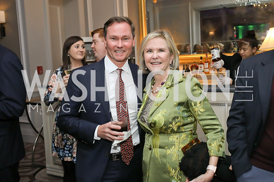 Michael Rankin, Connie Carter. Photo by Tony Powell. 10th Annual Teach for America Gala. Ritz Carlton. February 26, 2020
