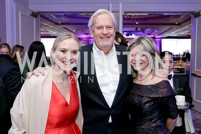 National Children's Museum CEO Crystal Bowyer, Jack Davies and Kay Kendall. Photo by Tony Powell. 10th Annual Teach for America Gala. Ritz Carlton. February 26, 2020